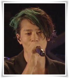 アレキサンドロス川上洋平の髪型&髪色!緑色は海外を見越して?4