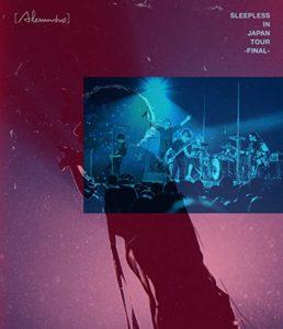 アレキサンドロスSleepless in Japan Tour Final(DVD)の値段は?2